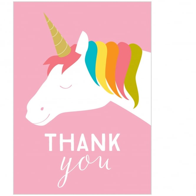 Unicorn Thank You Card Pack