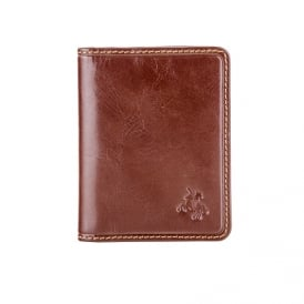 Camper Leather Card Holder