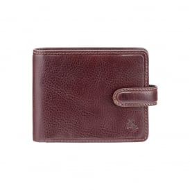 Riccardo Brown Leather Wallet