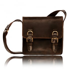 Rumba Leather Messenger Bag