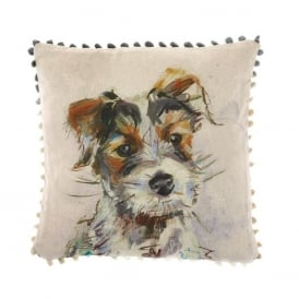 Baxter Terrier Arthouse Small Cushion