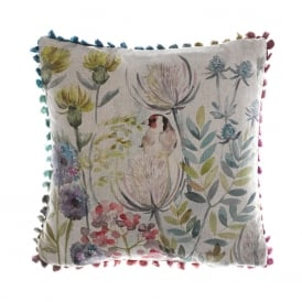 Goldfinch Arthouse Small Cushion
