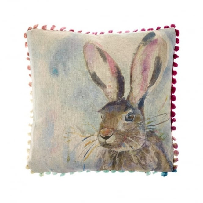 Voyage Maison Harriet Hare Arthouse Small Cushion