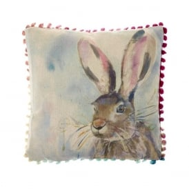 Harriet Hare Arthouse Small Cushion