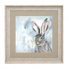 Harriet Hare Large Framed Picture
