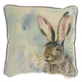 Harriet Hare Linen Cushion