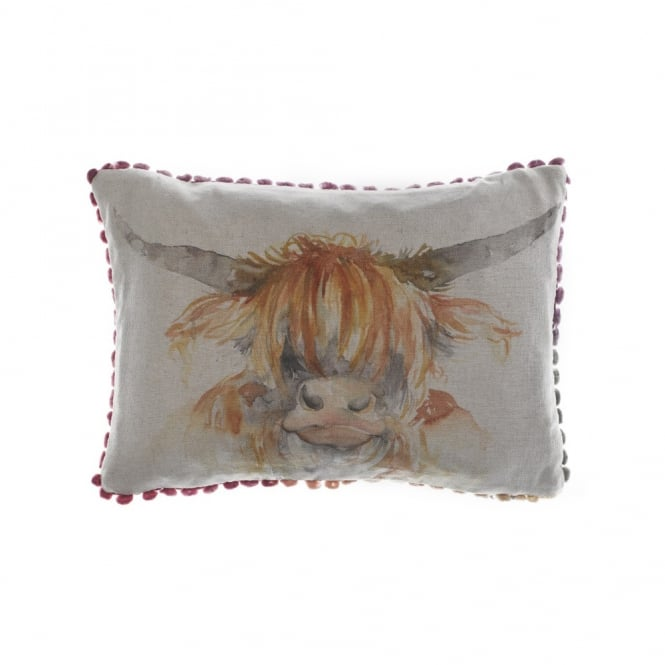 Voyage Maison Highland Coo Arthouse Small Cushion