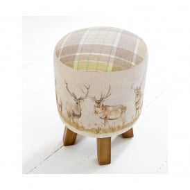 Mooreland Stag Monty Stool