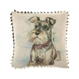 Schnauzer Arthouse Small Cushion