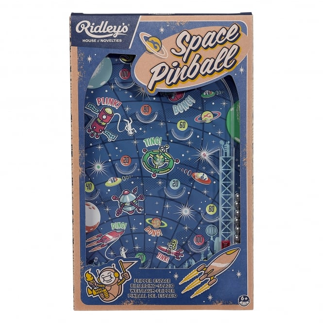 Wild & Wolf Ridley's House of Novelties: Space Pinball