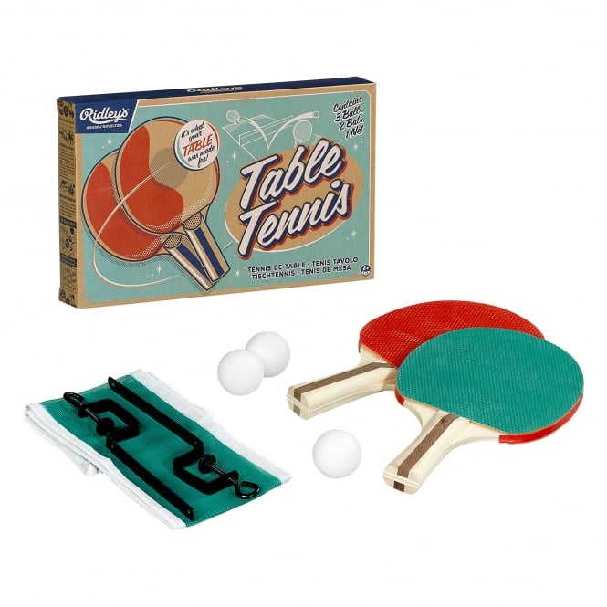 Wild & Wolf Ridley's House of Novelties: Table Tennis Set