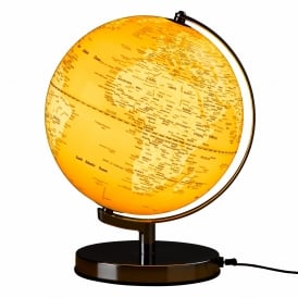 Wild Wood Globe Light English Mustard